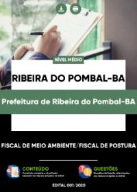 Fiscal de Meio Ambiente e outro - Prefeitura de Ribeira do Pombal-BA
