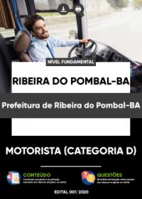 Motorista - Prefeitura de Ribeira do Pombal-BA