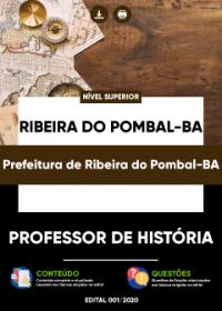 Professor de História - Prefeitura de Ribeira do Pombal-BA