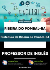 Professor de Inglês - Prefeitura de Ribeira do Pombal-BA