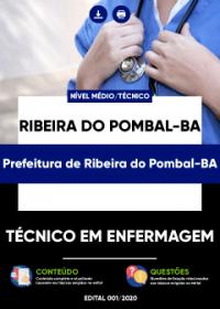 Técnico em Enfermagem - Prefeitura de Ribeira do Pombal-BA