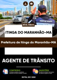 Agente de Trânsito - Prefeitura de Itinga do Maranhão-MA