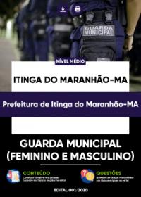 Guarda Municipal - Prefeitura de Itinga do Maranhão-MA