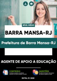Agente de Apoio a Educação - Prefeitura de Barra Mansa-RJ