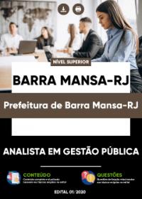 Analista em Gestão Pública - Prefeitura de Barra Mansa-RJ