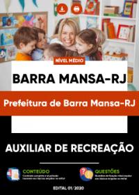 Auxiliar de Recreação - Prefeitura de Barra Mansa-RJ