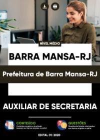 Auxiliar de Secretaria - Prefeitura de Barra Mansa-RJ