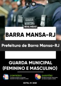 Guarda Municipal - Prefeitura de Barra Mansa-RJ