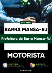 Motorista - Prefeitura de Barra Mansa-RJ