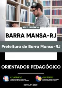 Orientador Pedagógico - Prefeitura de Barra Mansa-RJ