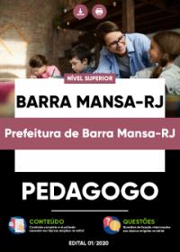 Pedagogo - Prefeitura de Barra Mansa-RJ