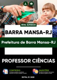 Professor de Ciências - Prefeitura de Barra Mansa-RJ