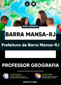Professor Geografia - Prefeitura de Barra Mansa-RJ