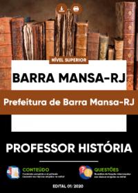Professor História - Prefeitura de Barra Mansa-RJ