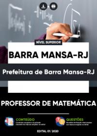 Professor de Matemática - Prefeitura de Barra Mansa-RJ