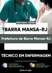 Técnico em Enfermagem - Prefeitura de Barra Mansa-RJ