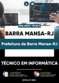 Técnico em Informática - Prefeitura de Barra Mansa-RJ