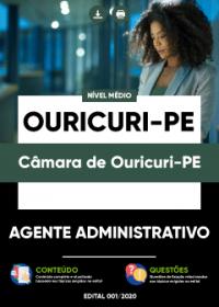 Agente Administrativo - Câmara de Ouricuri-PE