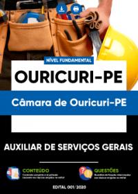 Auxiliar de Serviços Gerais - Câmara de Ouricuri-PE