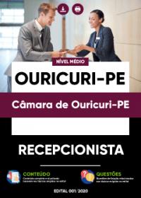 Recepcionista - Câmara de Ouricuri-PE