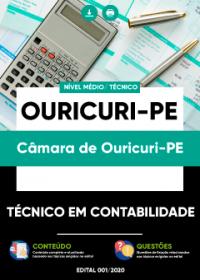 Técnico em Contabilidade - Câmara de Ouricuri-PE