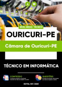 Técnico em Informática - Câmara de Ouricuri-PE