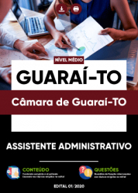 Assistente Administrativo - Câmara de Guaraí-TO