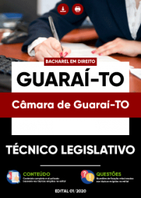 Técnico Legislativo - Câmara de Guaraí-TO