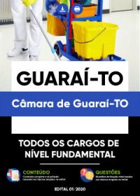Todos os Cargos de Nível Fundamental - Câmara de Guaraí-TO