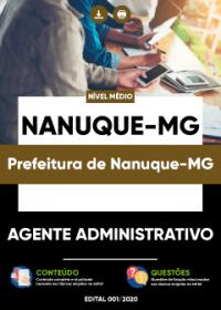 Agente Administrativo - Prefeitura de Nanuque-MG