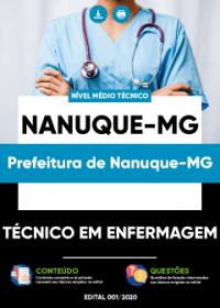 Técnico em Enfermagem - Prefeitura de Nanuque-MG
