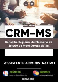 Assistente Administrativo - CRM-MS