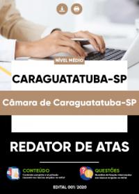 Redator de Atas - Câmara de Caraguatatuba-SP