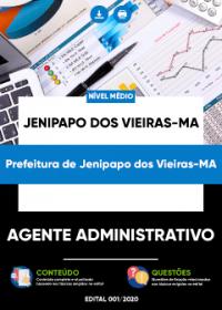 Agente Administrativo - Prefeitura de Jenipapo dos Vieiras-MA