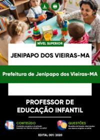 Professor de Educação Infantil - Prefeitura de Jenipapo dos Vieiras-MA