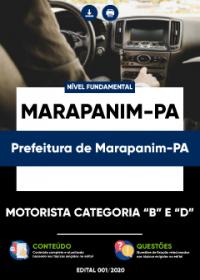 Motorista Categoria B e D - Prefeitura de Marapanim-PA