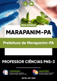 Professor Ciências PNS-3 - Prefeitura de Marapanim-PA