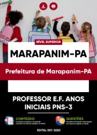 Professor E.F. Anos Iniciais PNS-3 - Prefeitura de Marapanim-PA