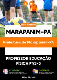 Professor Educação Física PNS-3 - Prefeitura de Marapanim-PA