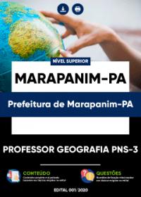 Professor Geografia PNS-3 - Prefeitura de Marapanim-PA