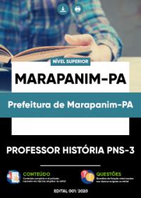 Professor História PNS-3 - Prefeitura de Marapanim-PA