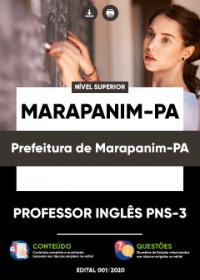 Professor Inglês PNS-3 - Prefeitura de Marapanim-PA