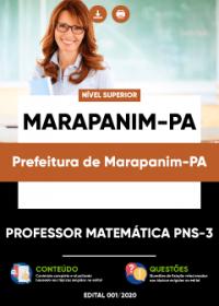 Professor Matemática PNS-3 - Prefeitura de Marapanim-PA