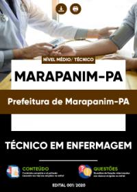 Técnico em Enfermagem - Prefeitura de Marapanim-PA