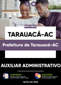 Auxiliar Administrativo - Prefeitura de Tarauacá-AC