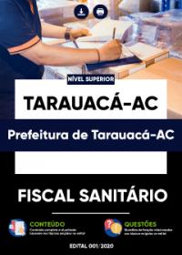 Fiscal Sanitário - Prefeitura de Tarauacá-AC