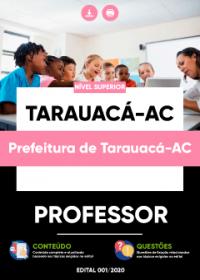 Professor - Prefeitura de Tarauacá-AC