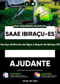 Ajudante - SAAE Ibiraçu-ES