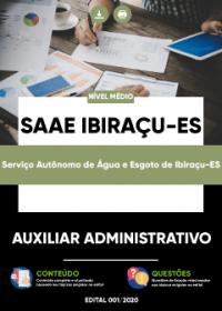 Auxiliar Administrativo - SAAE Ibiraçu-ES
