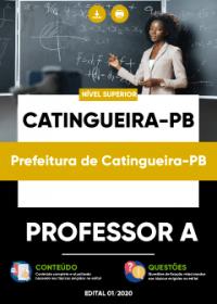 Professor A - Prefeitura de Catingueira-PB